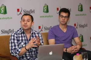Harley Finkelstein, Chief Platform Officer, Shopify and Brennan Loh, Head of Business Development, Shopify (1)
