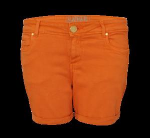 Orange hot pants
