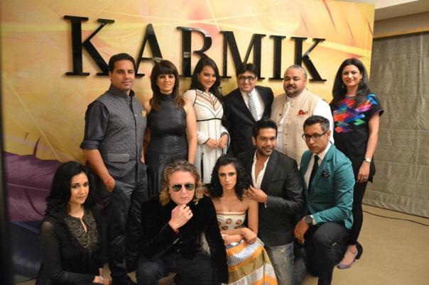 All KARMIK designers and Mr. Hirani