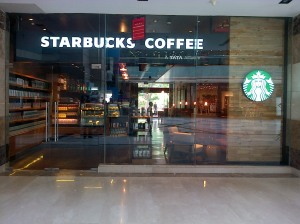 Starbucks at Ambience Mall
