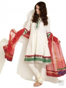 Kota Kalli Kurta with Floral Embroidery - 4795