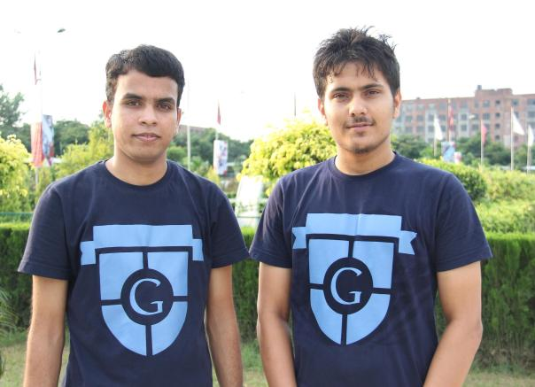 LPU students Khageshwar Ijardar and Bishal Sapkota - The Google Ambassadors