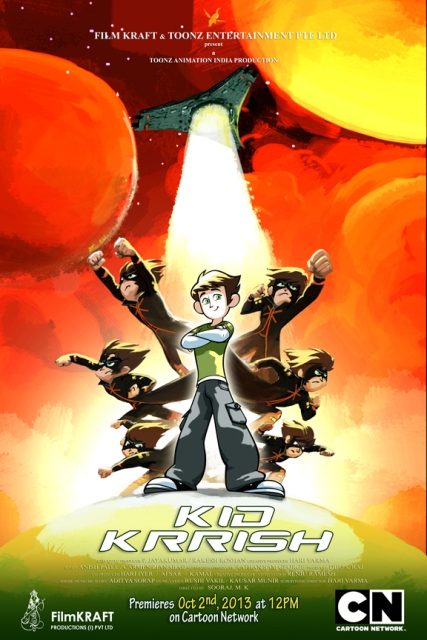 Kid Krrish to premiere on Cartoon Network on Oct 2 at 12pm (1)