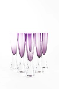 ELINA GRAPE CHAMPAGNE FLUTE-RS.6790(SET OF 6)