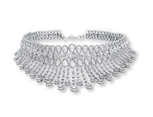 Entice diamond choker- reception & cocktail