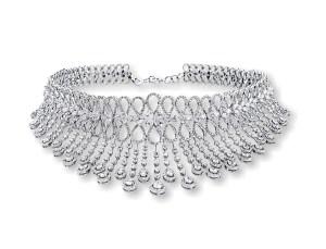 Entice diamond choker- reception & cocktail
