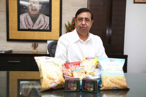 Mr. Shri Gopal Gupta, Chairman, GCL with the products