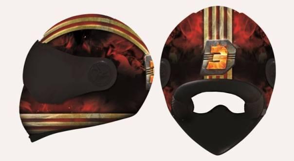 Dhoom 3 Helmet