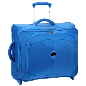 U-Lite - Blue Expandable cabin trolley case horizontal (1)